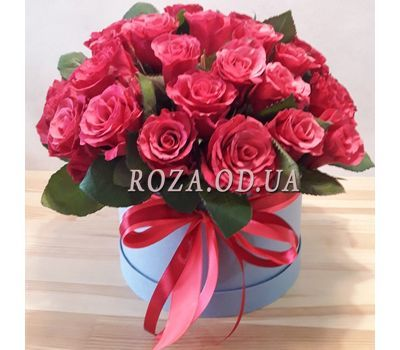 """Large bouquet of roses in box 1"" in the online flower shop roza.od.ua"