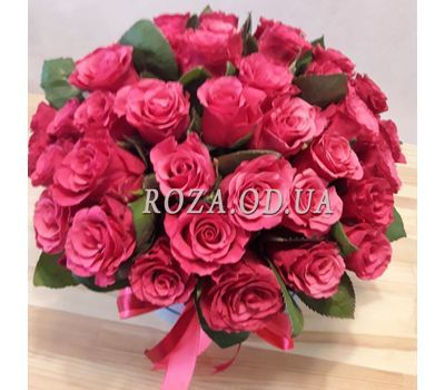 """Large bouquet of roses in box 2"" in the online flower shop roza.od.ua"