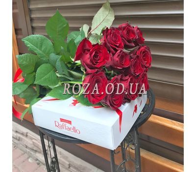 """11 roses 8"" in the online flower shop roza.od.ua"