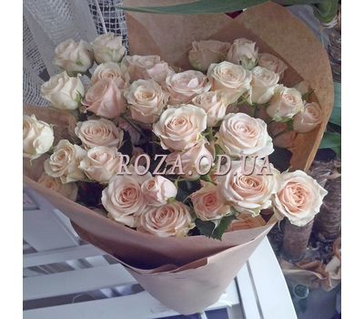 """""""Bouquet of 13 spray roses 1"""" in the online flower shop roza.od.ua"""