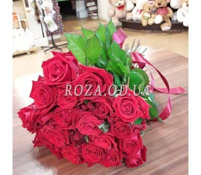 """21 Red Roses 2"" in the online flower shop roza.od.ua"