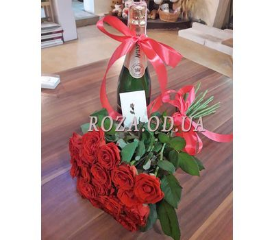 """21 Red Roses 3"" in the online flower shop roza.od.ua"