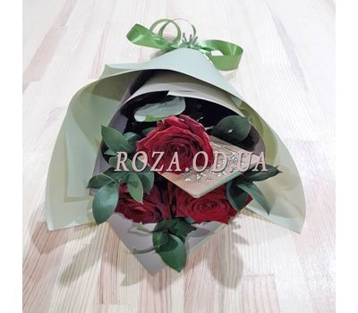 """Bouquet of 3 roses 2"" in the online flower shop roza.od.ua"