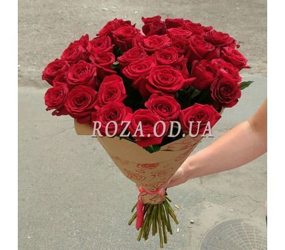 """""""Букет із 39 червоних троянд 1"""" в интернет-магазине цветов roza.od.ua"""