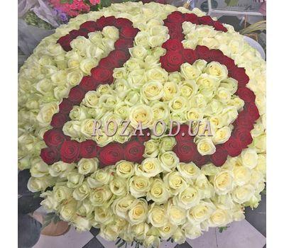 """301 роза в корзине"" в интернет-магазине цветов roza.od.ua"