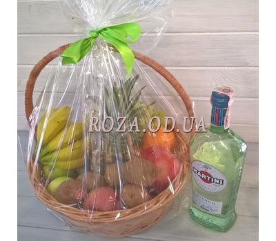 """""""Fruit basket 3"""" in the online flower shop roza.od.ua"""