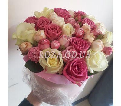 """""""Нежный букет в шляпной коробке - фото 4"""" в интернет-магазине цветов roza.od.ua"""