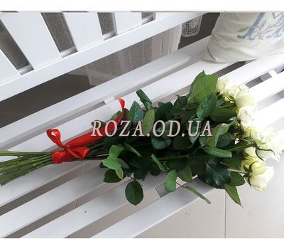 """""""11 white roses 2"""" in the online flower shop roza.od.ua"""