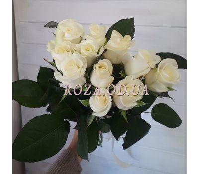 """""""11 белых роз 3"""" в интернет-магазине цветов roza.od.ua"""