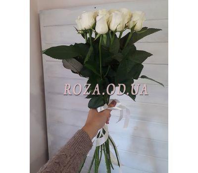 """""""11 белых роз 4"""" в интернет-магазине цветов roza.od.ua"""