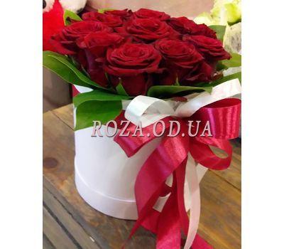"""11 роз в коробке 12"" в интернет-магазине цветов roza.od.ua"
