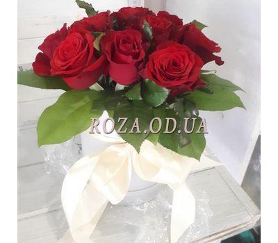 """11 роз в коробке 9"" в интернет-магазине цветов roza.od.ua"