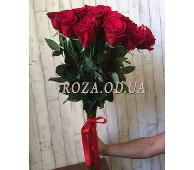 """""""25 import roses 4"""" in the online flower shop roza.od.ua"""