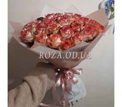 """51 roses Jumilia 7"" in the online flower shop roza.od.ua"