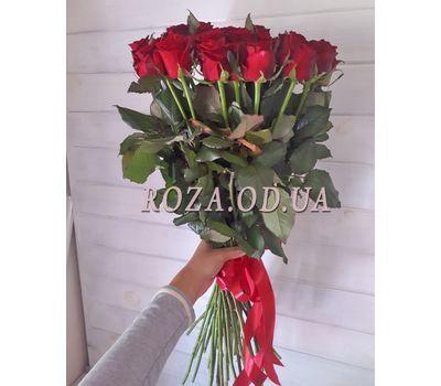 """""""Букет із 39 червоних троянд 2"""" в интернет-магазине цветов roza.od.ua"""
