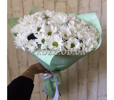 """""""Bouquet of 7 chamomiles 1"""" in the online flower shop roza.od.ua"""