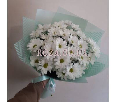 """""""Bouquet of 7 chamomiles 2"""" in the online flower shop roza.od.ua"""