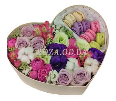 """Spanish passions"" in the online flower shop roza.od.ua"