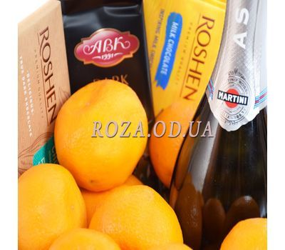 """Champagne Basket Martini Asti"" in the online flower shop roza.od.ua"