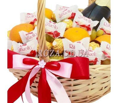 """Gift Basket with Martini Asti 1"" in the online flower shop roza.od.ua"
