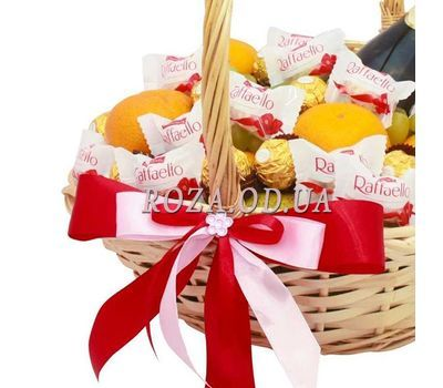"""Gift Basket with Martini Asti 3"" in the online flower shop roza.od.ua"