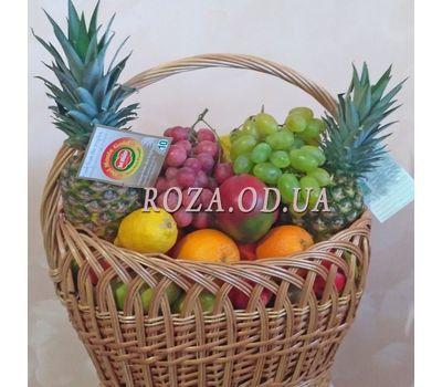 """""""Огромная корзина с фруктами 1"""" в интернет-магазине цветов roza.od.ua"""