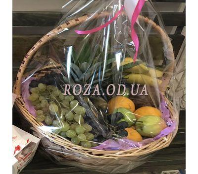 """""""Огромная корзина с фруктами 5"""" в интернет-магазине цветов roza.od.ua"""
