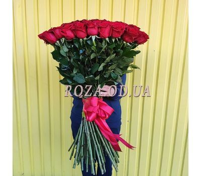 """""""101 imported rose 1m 4"""" in the online flower shop roza.od.ua"""