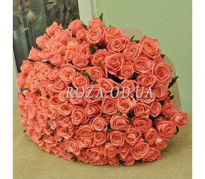 """""""101 orange rose 60 cm 4"""" in the online flower shop roza.od.ua"""