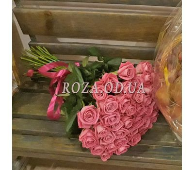 """45 pink roses 1"" in the online flower shop roza.od.ua"
