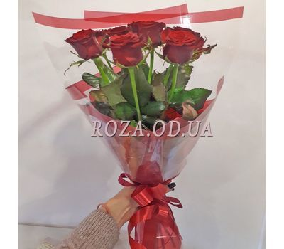 """""""9 roses and Raffaello 3"""" in the online flower shop roza.od.ua"""