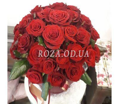 """""""Большой букет роз в коробке 3"""" в интернет-магазине цветов roza.od.ua"""