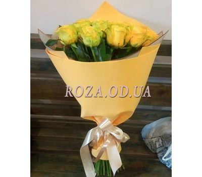 """25 yellow roses 2"" in the online flower shop roza.od.ua"