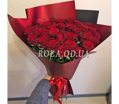 """Bouquet of 29 red roses 1"" in the online flower shop roza.od.ua"