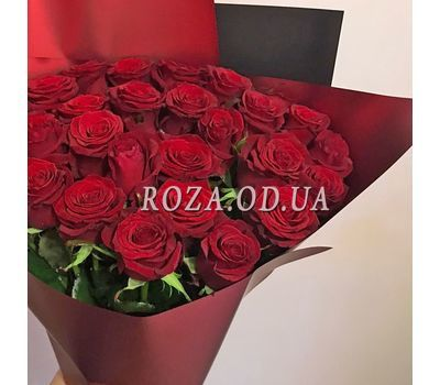 """Bouquet of 29 red roses 2"" in the online flower shop roza.od.ua"