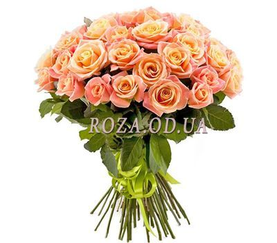 """""""Bouquet of 35 roses Miss Piggy"""" in the online flower shop roza.od.ua"""