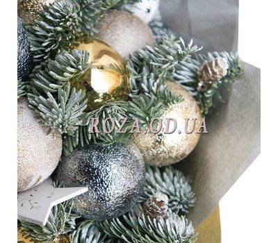 """Bouquet of Christmas balls 3"" in the online flower shop roza.od.ua"