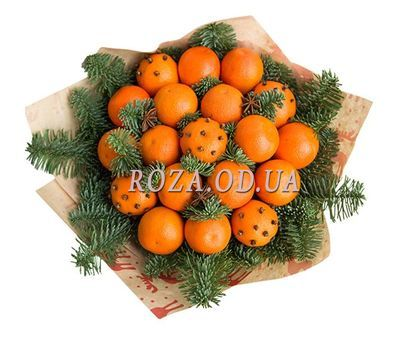 """Bouquet of tangerines 1"" in the online flower shop roza.od.ua"