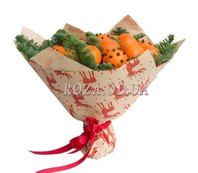 """Bouquet of tangerines 2"" in the online flower shop roza.od.ua"