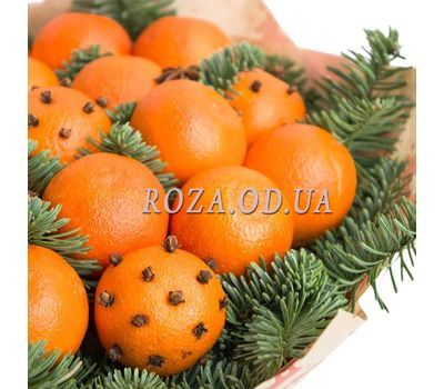 """Bouquet of tangerines 3"" in the online flower shop roza.od.ua"