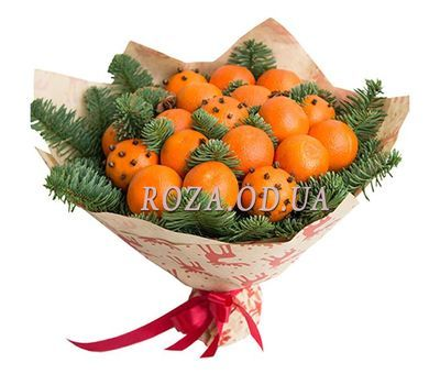 """Bouquet of tangerines"" in the online flower shop roza.od.ua"