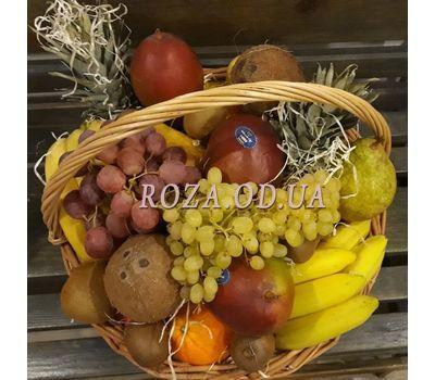 """""""Huge basket of fruit 8"""" in the online flower shop roza.od.ua"""
