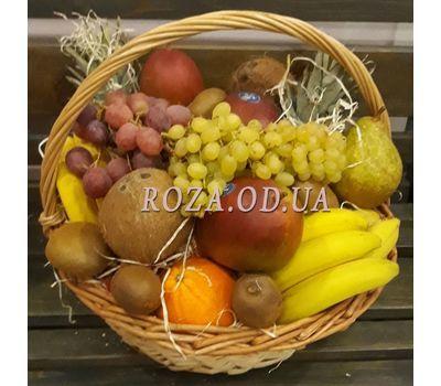 """""""Huge basket of fruit 9"""" in the online flower shop roza.od.ua"""