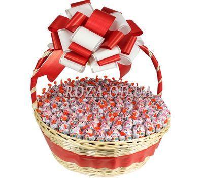 """""""101 Kinder Surprise"""" in the online flower shop roza.od.ua"""