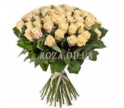 """101 cream rose 70 cm"" in the online flower shop roza.od.ua"