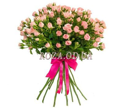 """17 cluster roses"" in the online flower shop roza.od.ua"