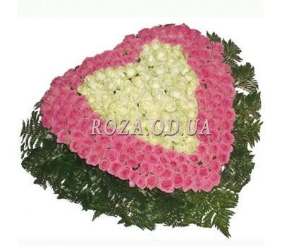 """201 roses in the basket"" in the online flower shop roza.od.ua"