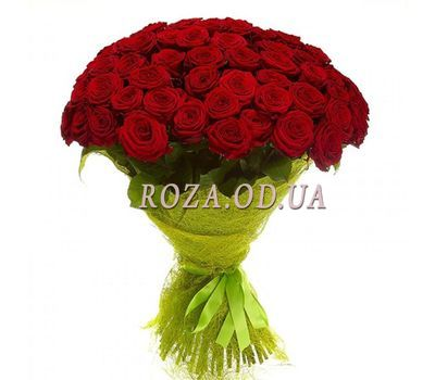 """51 red rose 60 cm"" in the online flower shop roza.od.ua"