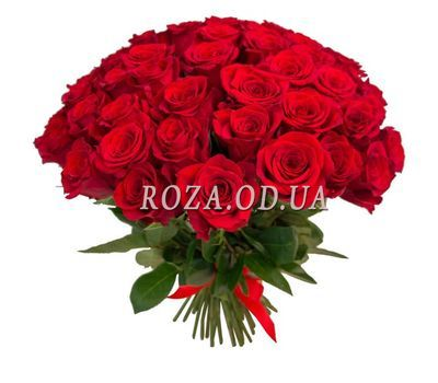 """""""Bouquet of 55 roses"""" in the online flower shop roza.od.ua"""