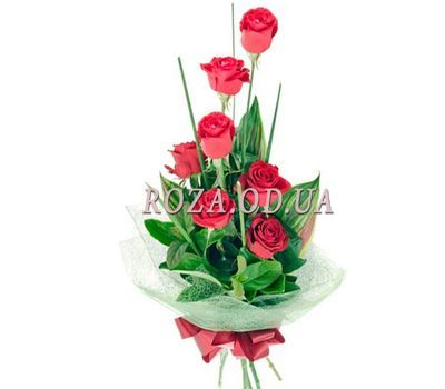 """7 red roses"" in the online flower shop roza.od.ua"
